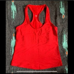 Cropped Cool Racerback